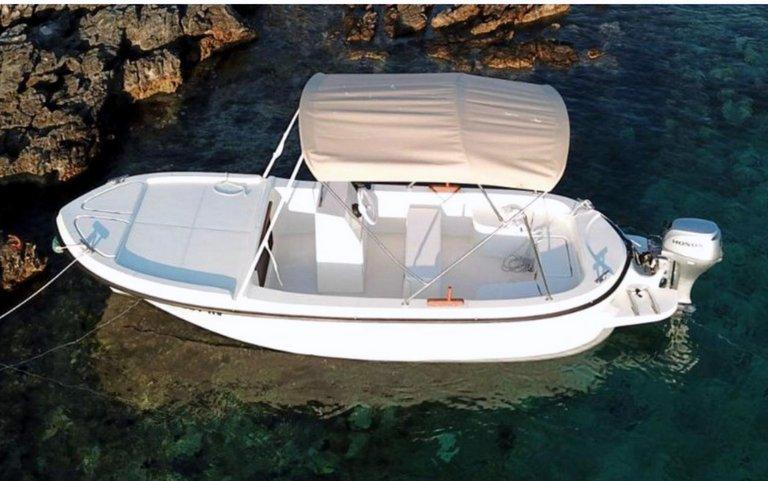 Boat Betina 30hp